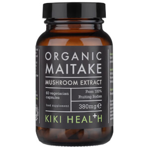 KIKI Health Organic Maitake Extract Mushroom (60 Vegicaps)