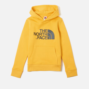 The North Face Boys' Youth Drew Peak Pull Over Hoodie - TNF Yellow