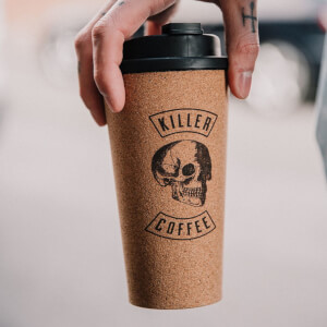 Iron & Glory Killer Coffee Reusable Coffee Cup