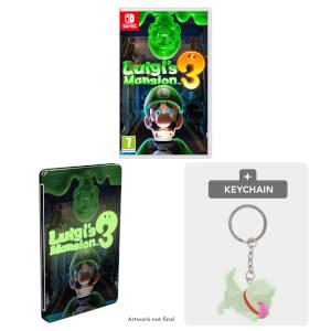 Luigi's Mansion 3 + SteelBook & Keychain Pack
