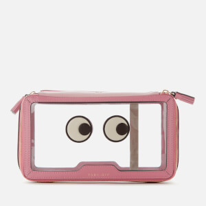 Anya Hindmarch Women's In Flight Eyes Cosmetic Case - Light Clay