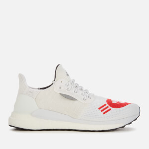adidas X Pharrell Williams Men's Solar HU Human Made Trainers - White/Black/Scarlet