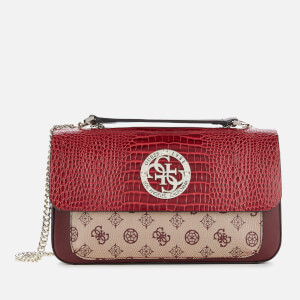 Guess Women's Magnolia Cross Body Bag - Merlot