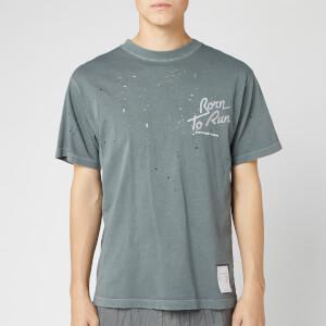Satisfy Men's Moth Eaten T-Shirt - Shadow