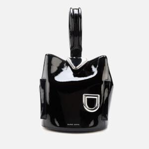 Danse Lente Women's Josh One Shoulder Bag - Black/Metal