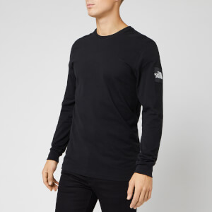 The North Face Men's Long Sleeve Fine 2 T-Shirt - TNF Black