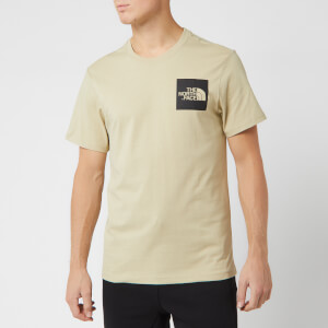 The North Face Men's Short Sleeve Fine T-Shirt - Twill Beige
