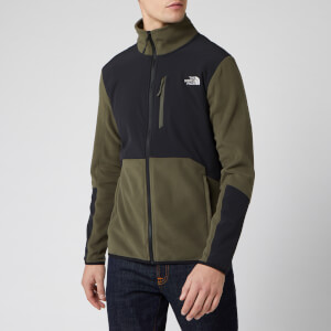 The North Face Men's Glacier Pro Full Zip Fleece Jumper - New Taupe Green