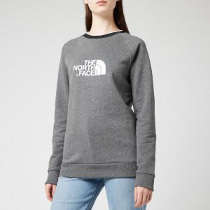 The North Face Women's Redbox Long Sleeve Crew Neck Sweatshirt - TNF Medium Grey Heather