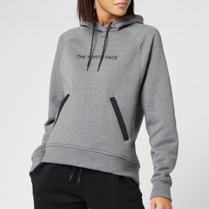 The North Face Women's NSE Graphic Pull Over Hoody - TNF Medium Grey Heaher