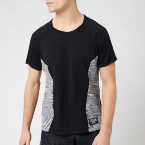 adidas X Missoni Men's C.R.U Short Sleeve T-Shirt - Black/Dark Grey/White
