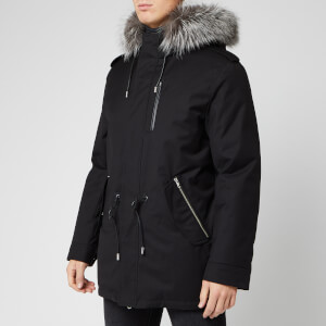Mackage Men's Seth Twill Parka - Black