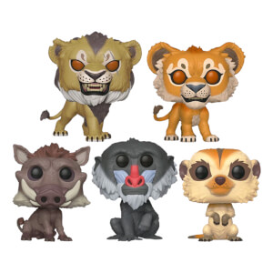 Disney Il Re Leone (Film Live Action) Pop! Bundle