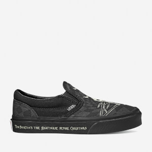 Vans X The Nightmare Before Christmas Kids' Glow Classic Slip-On Trainers - Multi