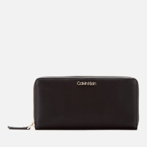 Calvin Klein Women's Assorted Large Ziparound Purse - Black