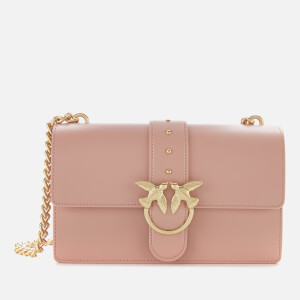 Pinko Women's Love Simply 11 Catena Bag - Peach Skin Pink