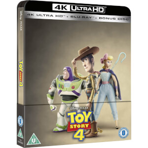 Toy Story 4 4K Ultra HD (Includes 2D Blu-Ray) - Zavvi UK Exclusive Steelbook