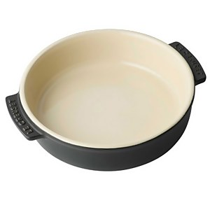 Le Creuset Stoneware Tapas Dish - 14cm - Satin Black