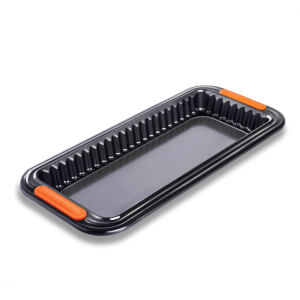 Le Creuset Bakeware Toughened Non Stick Rectangular Tart Tin - 33cm