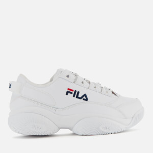 FILA Men's Provenance Trainers - White/Navy/Red