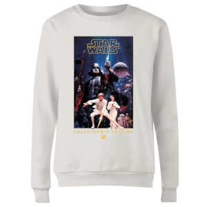 Sweat à capuche Star Wars Collector's Edition - Femme - Blanc