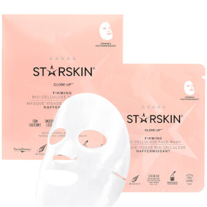 STARSKIN Close-Up Firming Bio-Cellulose Second Skin Face Mask 1.4 oz