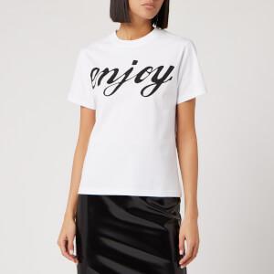 McQ Alexander McQueen Women's Band T-Shirt - Optic White