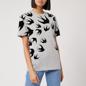 McQ Alexander McQueen Women's Classic T-Shirt - Mercury Melange