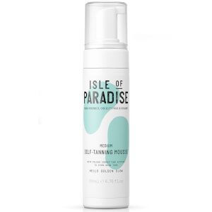 Isle of Paradise Self-Tanning Mousse - Medium 200ml