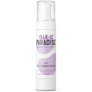 Isle of Paradise Self-Tanning Mousse - Dark 200ml