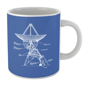 Satellite Schematic Mug