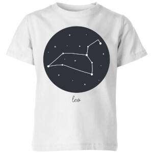 Leo Kids' T-Shirt - White