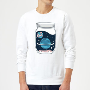 Space Jar Sweatshirt - White