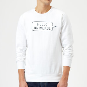 Hello Universe Sweatshirt - White