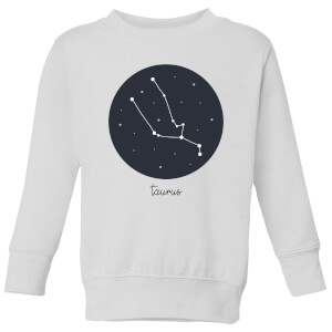 Taurus Kids' Sweatshirt - White