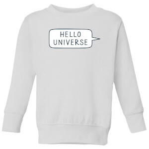 Hello Universe Kids' Sweatshirt - White