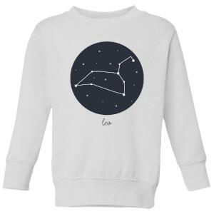 Leo Kids' Sweatshirt - White