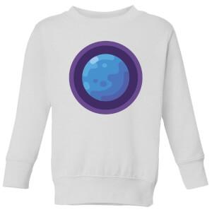 Neptune Kids' Sweatshirt - White