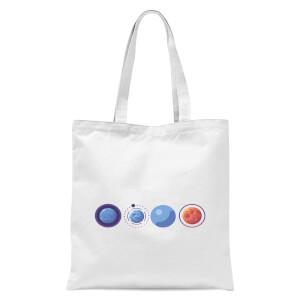 Planets Tote Bag - White