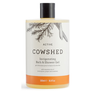 Cowshed ACTIVE Invigorating Bath & Shower Gel 500ml (Worth $44)