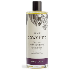 Cowshed AWAKE Bracing Bath & Body Oil 100ml