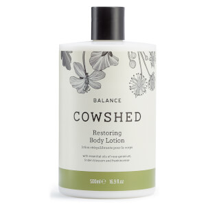 Cowshed BALANCE Restoring Body Lotion 500ml (Worth $49)