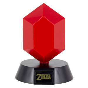The Legend of Zelda Red Rupee Lamp