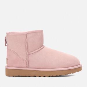 UGG Women's Classic Mini II Sheepskin Boots - Pink Crystal