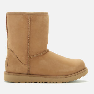 UGG Kids' Classic Short II Waterproof Boots - Chestnut
