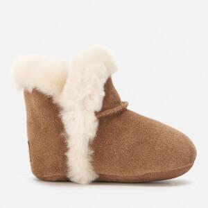 UGG Babies' Lassen Fluffy Sheepskin Boots - Chestnut