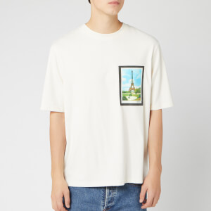 AMI Men's Postcard T-Shirt - Ecru