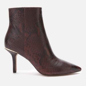 MICHAEL MICHAEL KORS Women's Katerina Heeled Boots - Barolo