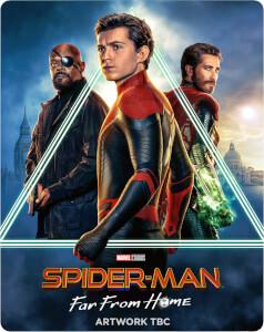 Spider-Man: Lejos de casa 4K UHD (incluye Blu-ray) - Steelbook Edición Limitada Exclusivo Zavvi