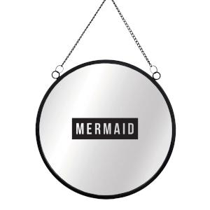 Mermaid Round Mirror & Vinyl Sticker